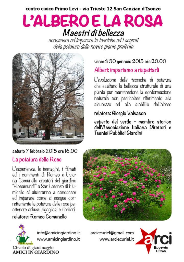 albero rosa